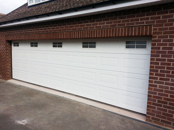 Sectional garage doors halesowen remote controlled for How wide is a garage door