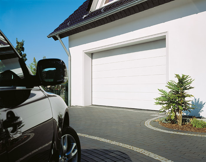 Contemporary-Sectional-Garage-Door