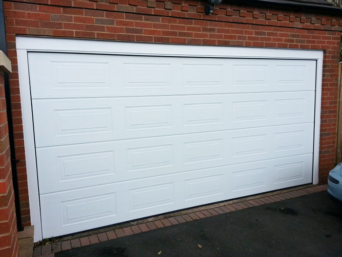 External-view-of-a-Sectional-Garage-Door